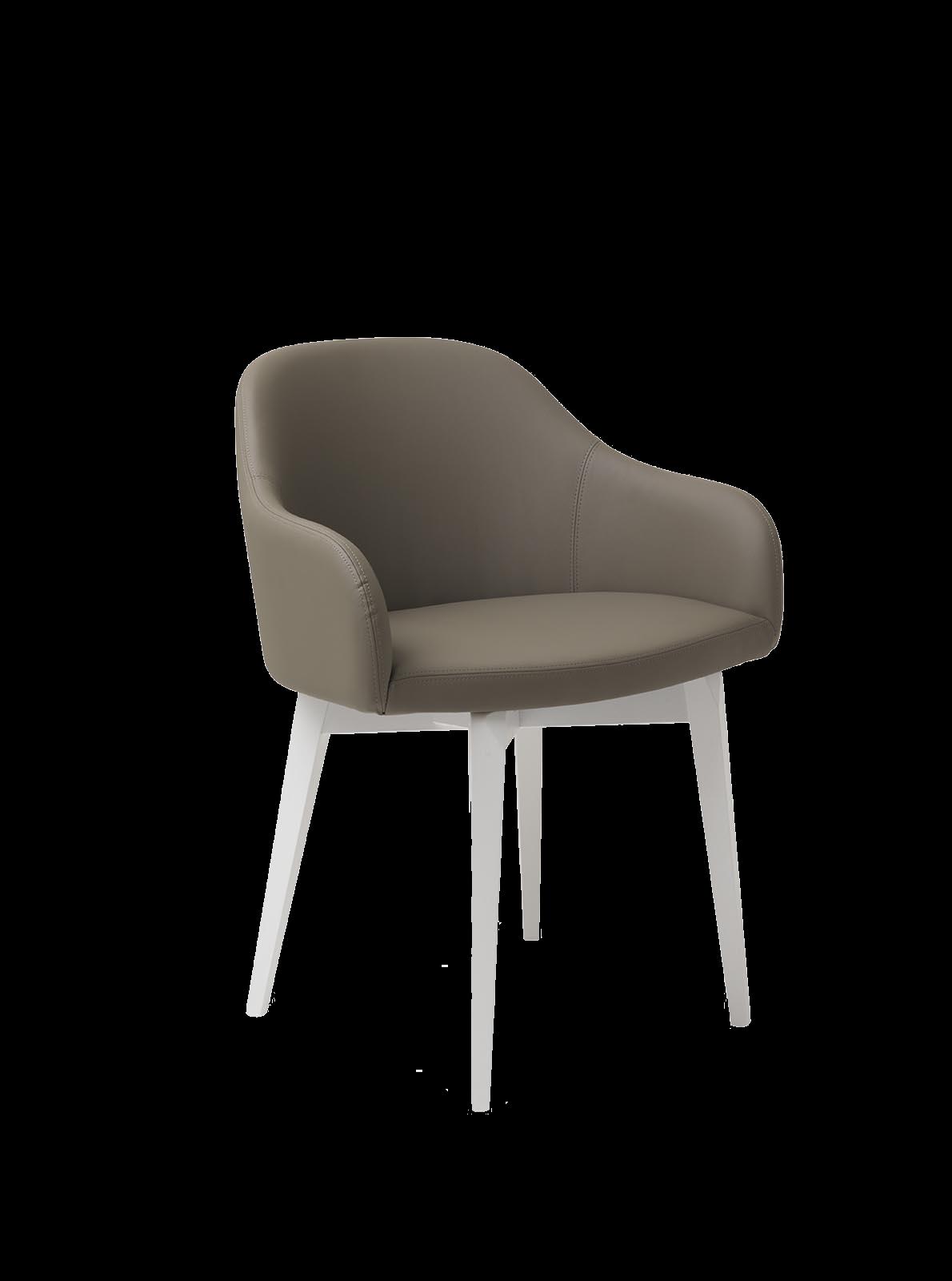 Krzesła kubełkowe tapicerowane